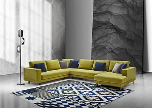 Mito, Modern sofa with completely removable cover