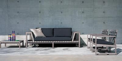 Picture of Net-Work 120 2 seater sofa, suitable for halls