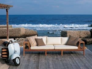 Picture of Net-Work 130 3 seater sofa, outdoor sofa
