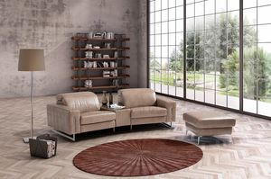 Trilussa, Contemporary style sofa with magazine rack