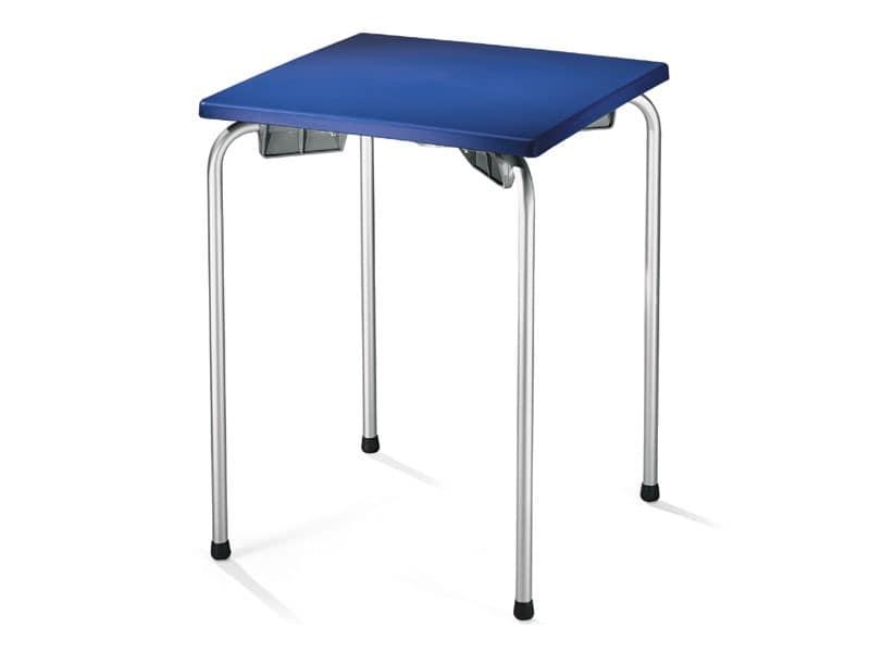Table 60x60 cod. 20/I, Outdoor table for bar, restaurant, ice cream parlour