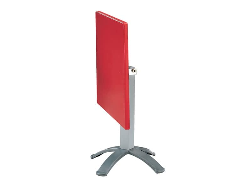 Table 80x80 cod. 23/BG4P, Folding table in polymer and aluminum, for external