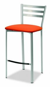 784 Liv, Kitchen stool, with padded seat