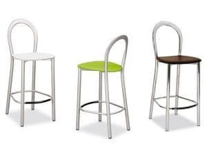 Picture of Lotus G/1304/M, metal frame barstool