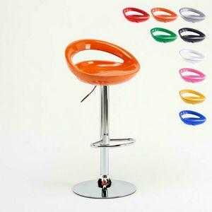 Adjustable kitchen bar stool Hollywood � SGA054HOL, Adjustable high stool, with ergonomic 360� seat