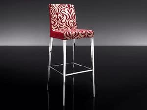 Picture of ART. 247/4 HOLLYWOOD STOOL, barstools with back