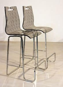 Picture of Arte barstool fabric, modern barstools