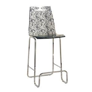Picture of Arte barstool lace, barstools with back