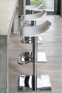 Ben 331, Modern stool with metal base