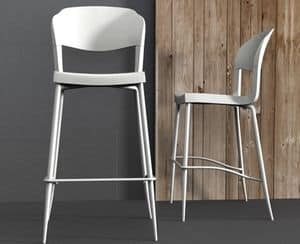 Picture of Evo Strass stool, suitable for kitchens