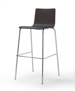 Picture of Fibra 4G, metal base barstool