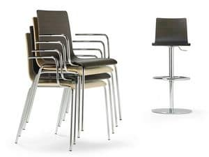 Picture of Fibra SG, barstools with back
