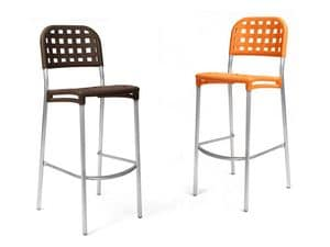 Picture of Globo, barstools with back