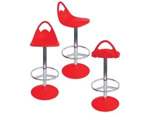 Picture of Snack cod. 25/A, metal frame barstool