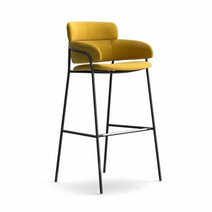 Strike ST, Modern and robust stool, various coatings, for bars