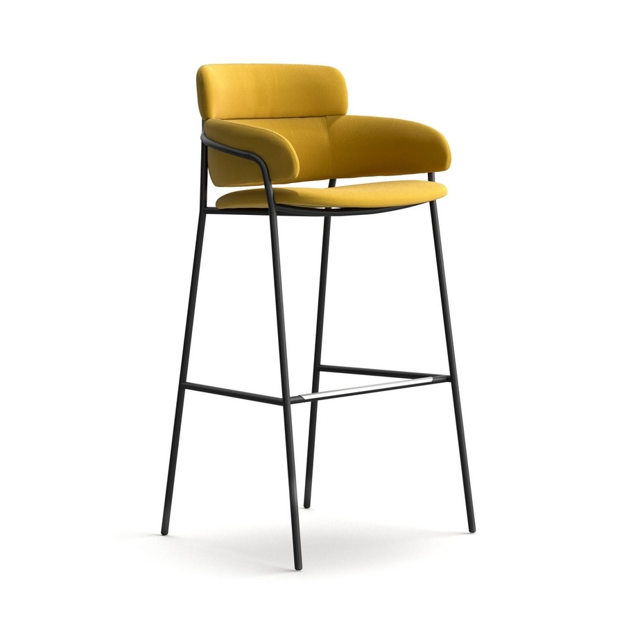 Modern And Robust Stool Various Coatings For Bars