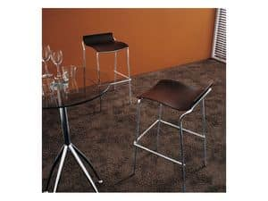 Picture of ypsilon, metal base barstool