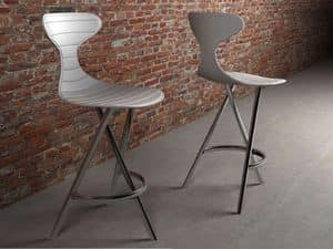 Picture of Cyber Punk P, design metal barstools
