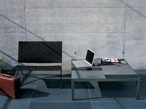 Picture of Flat 301 coffee table, linear coffee table