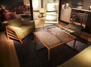 Picture of Net Table, linear coffee table