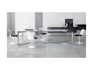 Picture of CARLO MAGNO EXTRALARGE, glass top tables
