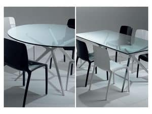 Picture of Ex, linear design tables