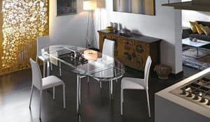 Picture of mambo elittico 170x110/140x105, extendable table