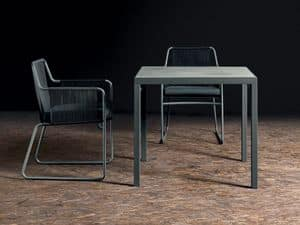 Picture of Flat 308 table, table with metal frame
