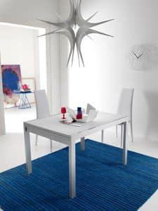 Picture of Eko 384, glass top table with extension