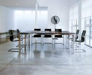 Picture of Strato table 40.0073, tables with metal structure