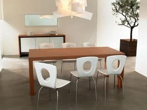 Picture of ART. 239/A BALI, natural wood dining tables