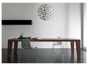 Picture of Cartagena table, minimal wooden tables