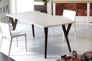 Picture of Fionda, painted wood dining tables