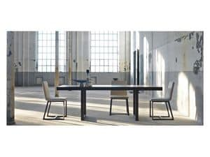 Picture of Kartesio, extendable wooden table