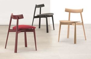 TZ 2201, Modern stacking chair in wood