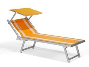 Picture of ALUMINIUM BEACH BED, sunbeds