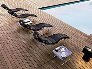 Picture of Loop sunlounger, swimming-pool-sunbeds