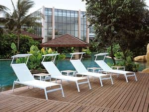 Picture of MALINDI SUNLOUNGER 605/10 605/P-10 PARASOL, dech chairs