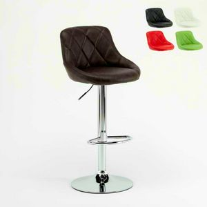 Adjustable kitchen bar stool Philadelphia - SGA052PHI, Padded high stool, easy to assemble