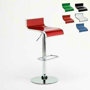 Design kitchen high barstool Florida � SGA041FLO, Adjustable stool, swivel 360 �, with footstools