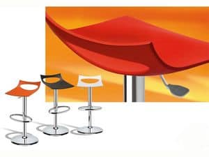 Picture of Diavoletto stool, revolving barstools