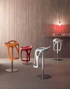 Picture of Form 489, modern barstools