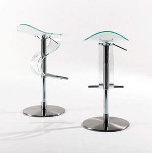 Picture of Spoonny methacrylate, design barstool
