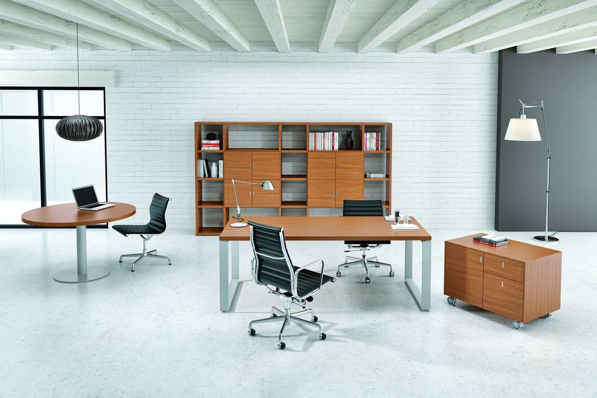 Modern Office Furniture Desk Commercial Leasing Property