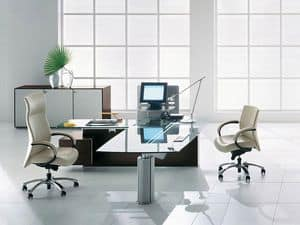 Picture of Ateneo executive desk, suitable for office