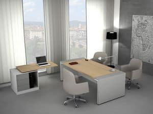 Picture of Loop executive desk, suitable for practice