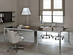 Picture of More 575 meeting table, suitable for directional office