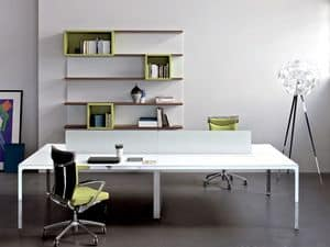 More task desk 4, 4 workstations ideal for modern office
