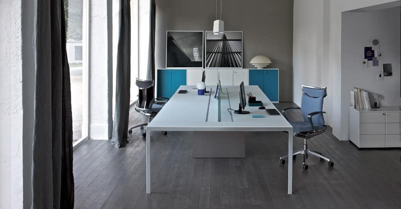 Task office desk table for office for two users IDFdesign