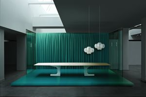 Picture of Niemeyer meeting table, suitable for office